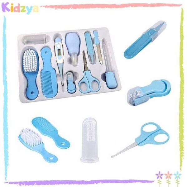 10Pcs Blue Care Set For Babies