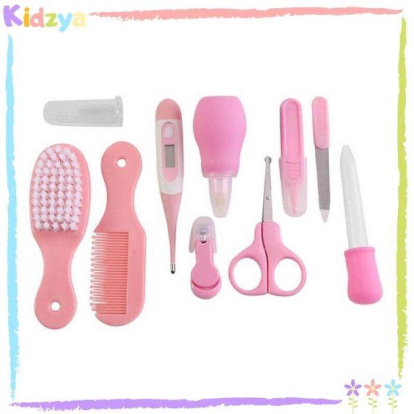 10Pcs Pink Care Set For Babies