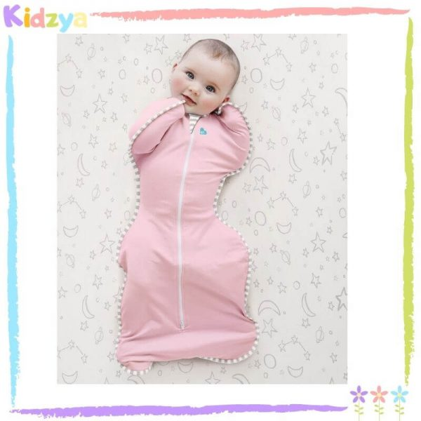 Baby Pink Zipper Swaddle