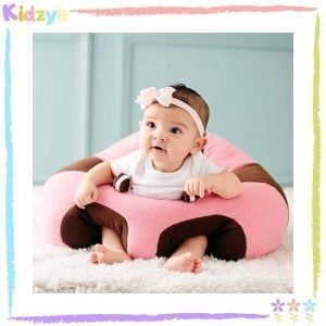 Baby Support Sofa Seat - Pink & Brown Online In Pakistan