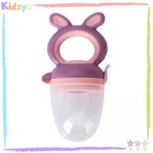 Bear Handle Purple Fruit Pacifier For Babies