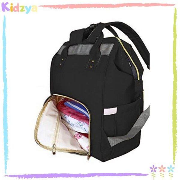 Black Diaper Storage Backpack For Babies Online In Pakistan