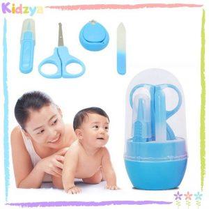 Blue 4pcs Manicure Set For Babies