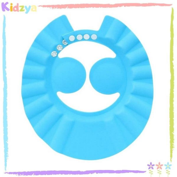 Blue Baby Shower Cap Eye & Ear Protector Online At Best Price In Pakistan