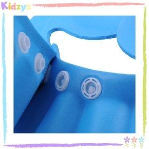 Blue Baby Shower Cap Eye & Ear Protector Price In Pakistan