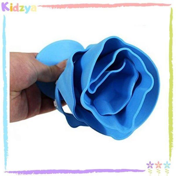 Blue Baby Shower Cap Eye & Ear Protector Online In Pakistan