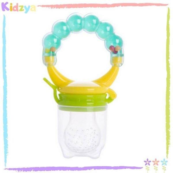Blue Rattle Fruit Pacifier For Babies