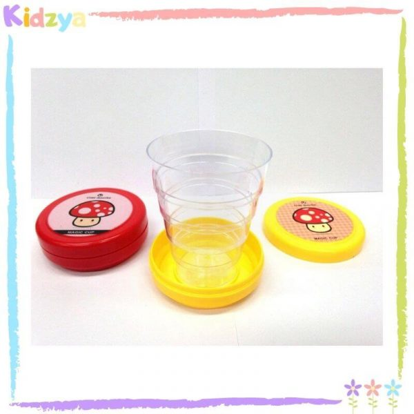 Collapsible Magic Cup Plastic For Kids