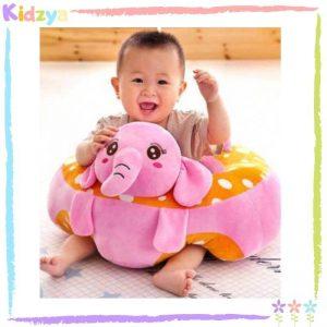 Elephant Baby Floor Seat – Pink In Pakistan