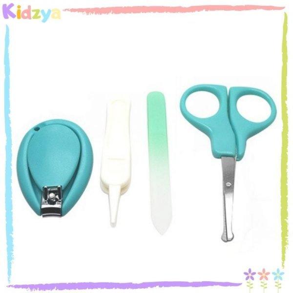 Green 4pcs Manicure Set For Babies