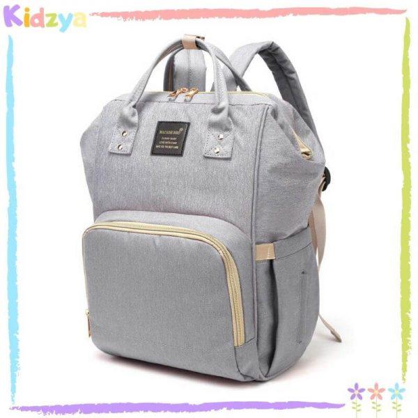 Grey Diaper Storage Backpack For Babies Online Price In Pakistan