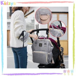 Grey Diaper Storage Backpack For Babies Best Price In Pakistan
