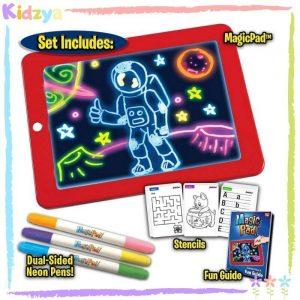 Kids LED Magic Pad Drawing Board Online Best Price In Pakistan