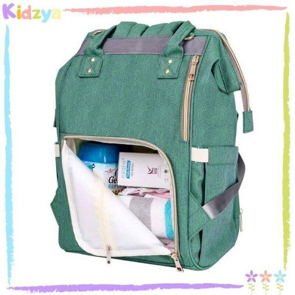 Lightgreen Diaper Storage Backpack For Babies Price In Pakistan