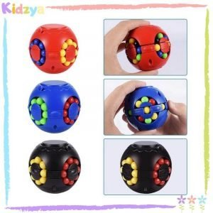 Magic Bean Puzzle Cube Rotating Toy Spinner Best Price In Pakistan