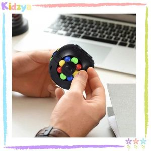 Magic Bean Puzzle Cube Rotating Toy Spinner Online In Pakistan