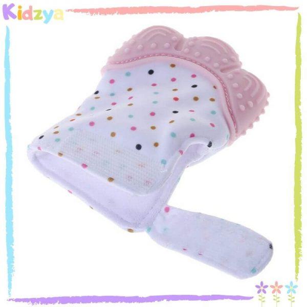 Mitten Baby Teether - Pink Online In Pakistan