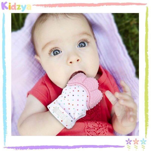 Mitten Baby Teether - Pink Price In Pakistan