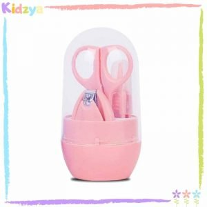 Pink 4pcs Manicure Set For Babies