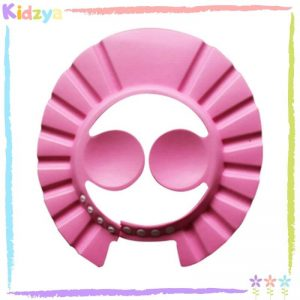 Pink Baby Shower Cap Eye & Ear Protector Online In Pakistan