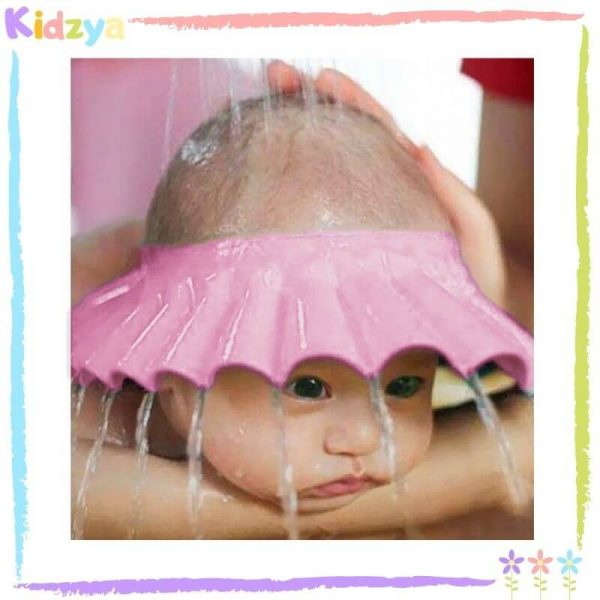 Pink Baby Shower Cap Eye & Ear Protector Price In Pakistan