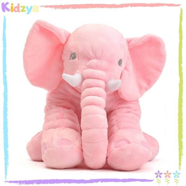 Pink Cute Elephant Pillow For Babies Online In Pakistan