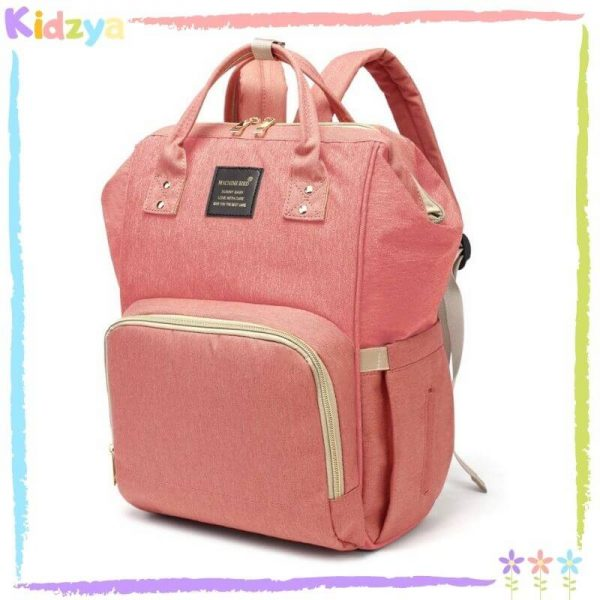 Pink Diaper Storage Backpack For Babies Affordable Online In Pakistan