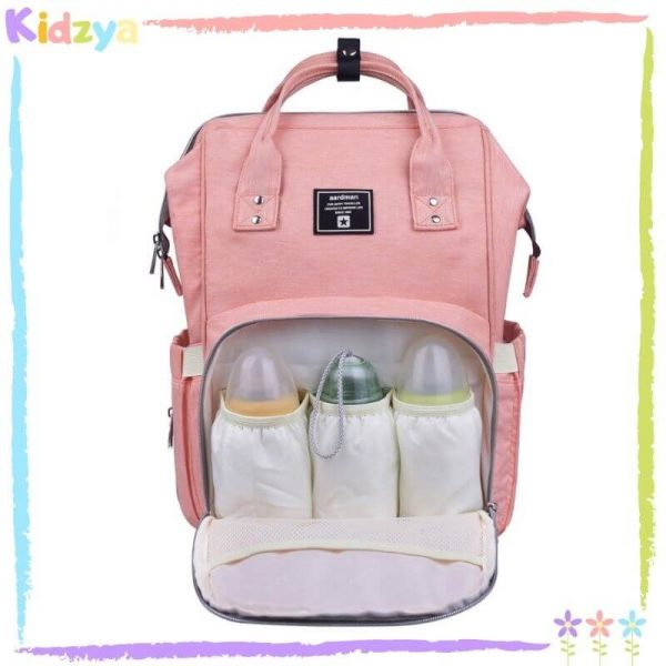 Pink Diaper Storage Backpack For Babies Best Price In Pakistan