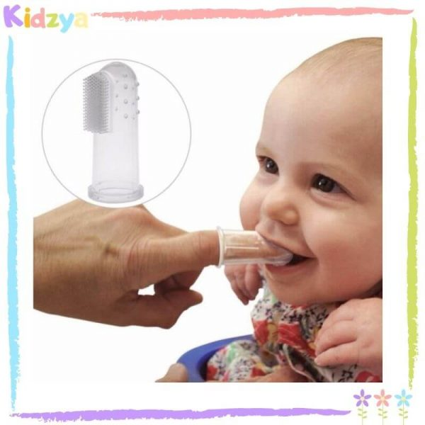 Silicone Finger Tooth Brush For Babies