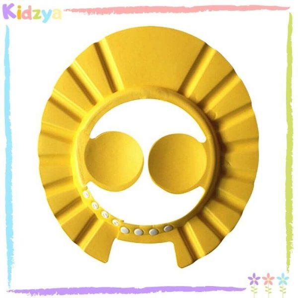 Yellow Baby Shower Cap Eye & Ear Protector Online At Best Price In Pakistan